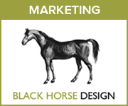 Black Horse Design Marketing (Staffordshire Horse)