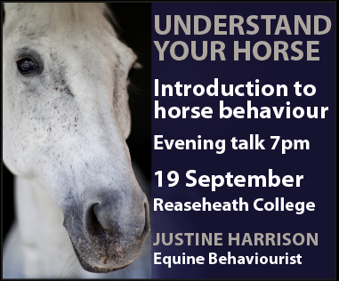 Justine Harrison Talk Reaseheath (Staffordshire Horse)