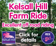 Kelsall Hill Farm Ride (Staffordshire Horse)